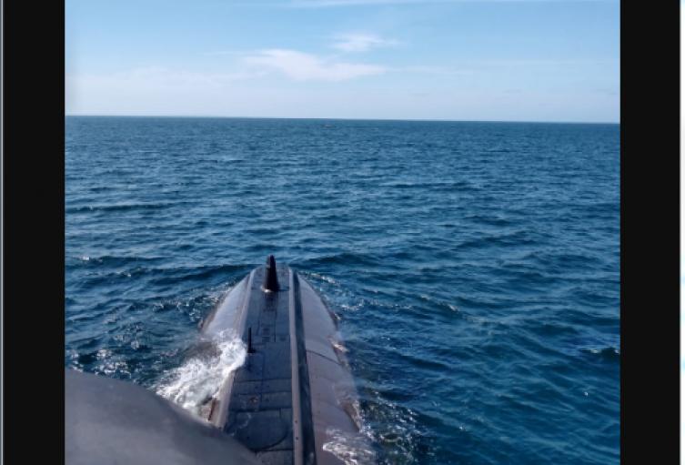 Submarino de la Armada Nacional