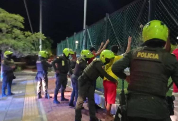 Operativos, Policía, Santa Marta, Magdalena