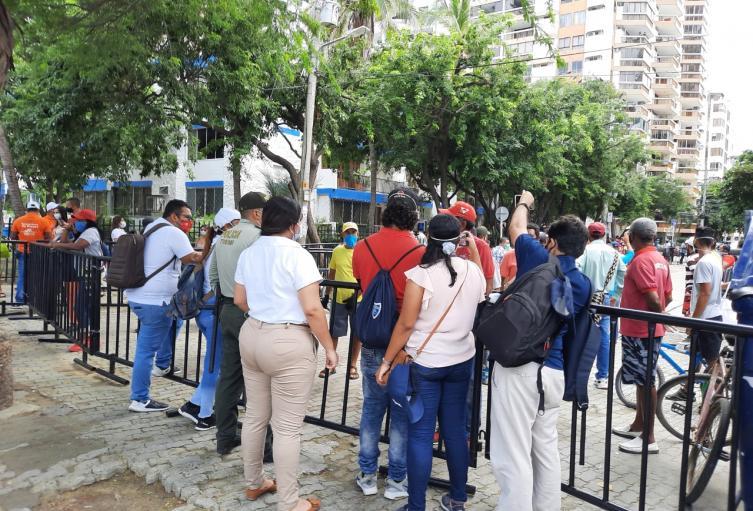 Regresa el pico y cédula para las diversas actividades comerciales en Santa Marta para evitar aglomeraciones