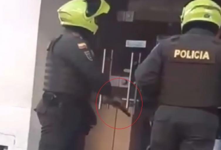Abogado denuncia agresión de patrullero de la Policía en Galapa (Atlántico)