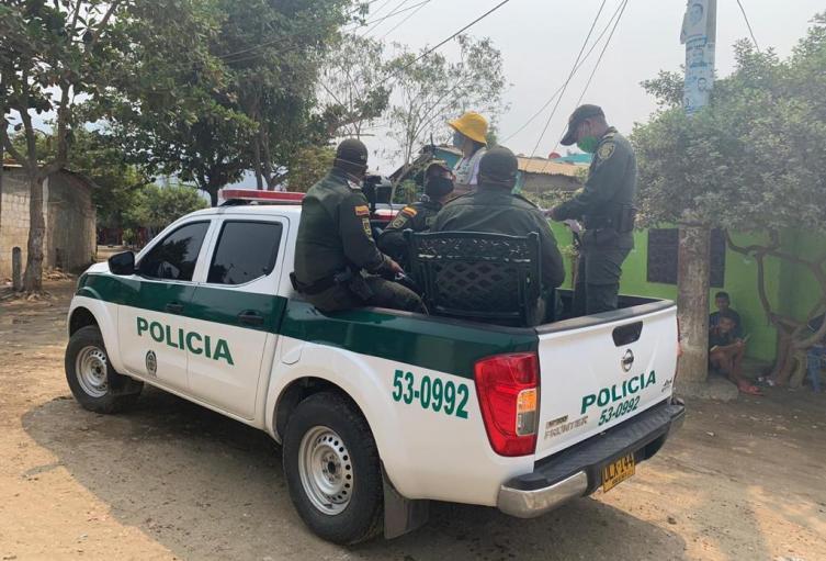 Operativo judicial de la Policía Nacional