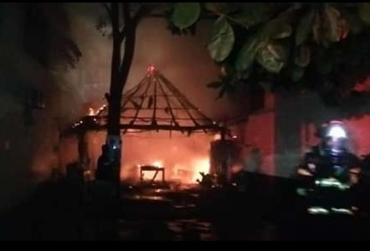 Bomberos, Santa Marta, Magdalena, Incendio, Restaurante