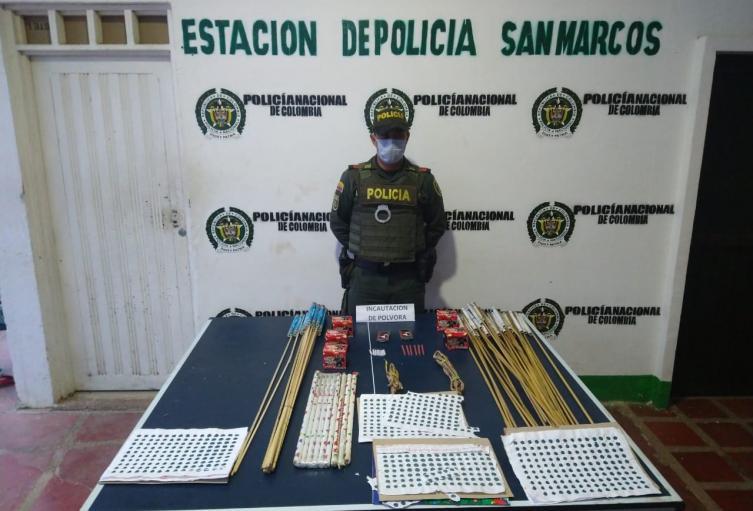 Policía Nacional presenta balance del 24 de diciembre en el departamento de Sucre