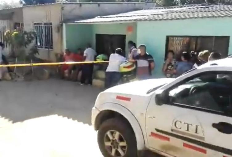 Feminicidio en el barrio 8 de febrero en Santa Marta.