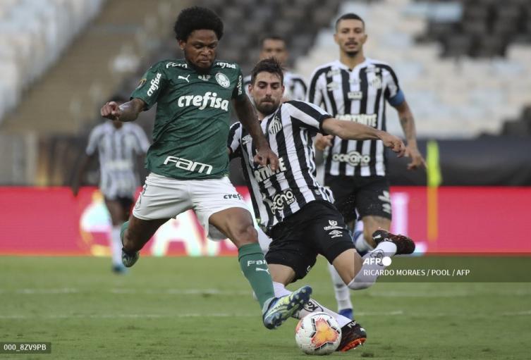 Palmeiras vs Santos; Copa Libertadores