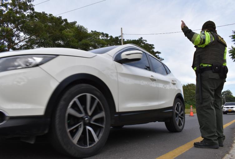A juicio de las autoridades los conductores se portaron bien