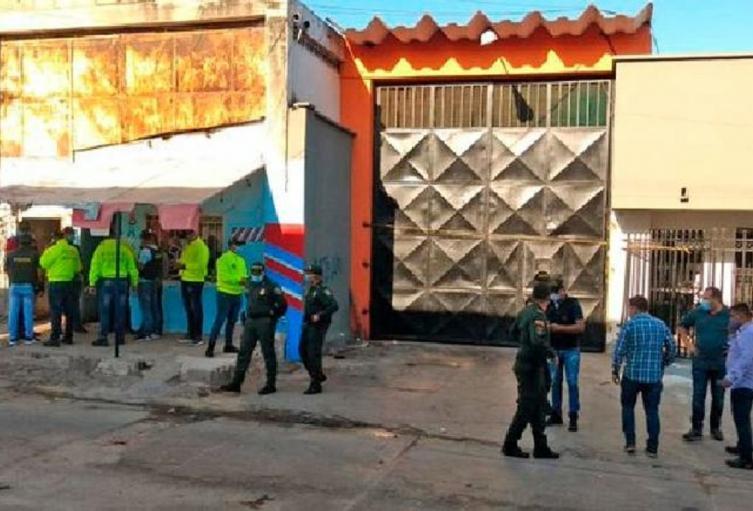 Las capturas fueron desarrolladas a las afueras de una vivienda en San Roque