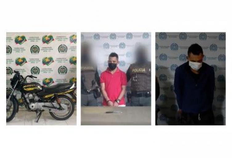 Policía Nacional en Sucre recupera tres motocicletas y captura a 7 personas por el delito de hurto en Corozal, Sincé y Sincelejo