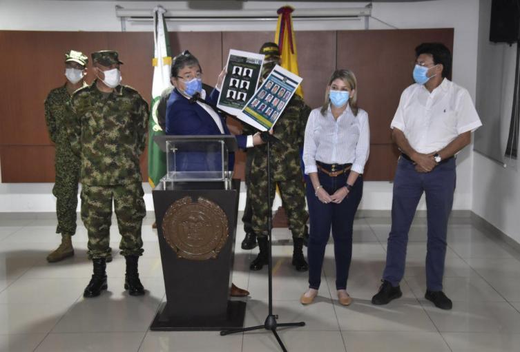 Judicial, MinDefensa, Santa Marta, Magdalena, Policía