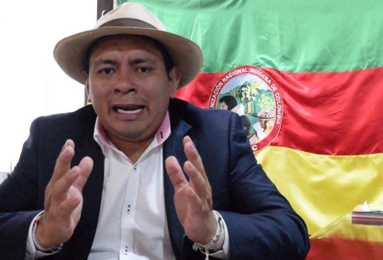 Luis Fernando Arias, líder indígena.