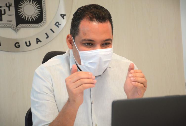 Nemesio Roys, gobernador de La Guajira.