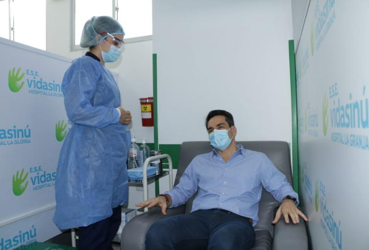 Ayer realizaron  visitas a varios hospitales en Montería
