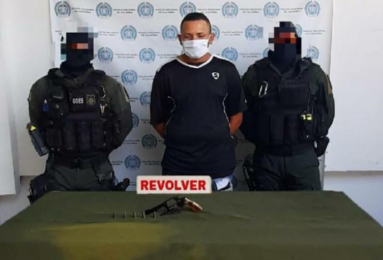 Cayó presunto delincuente que estaría dedicado al hurto de los Súper Giros en diferentes sectores en Sincelejo, Sucre