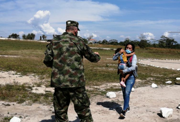 Rescatan con vida a menor que habría sido reportada como fallecida en el Sur de Bolívar