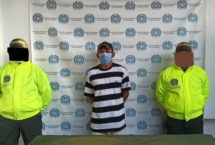 La Policía Nacional capturó en el municipio de San Antero, Córdoba a presunto depredador Sexual .
