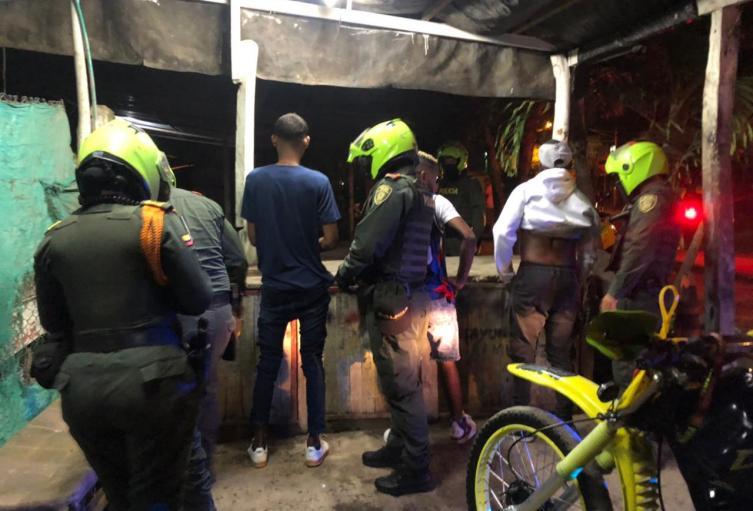 En Cartagena fueron capturadas  6 personas por diferentes delitos  en controles policiales.