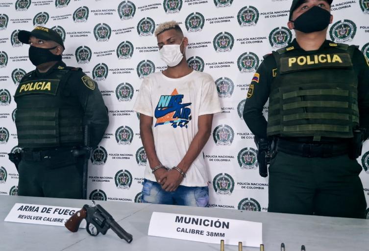La Policía dice que es un reconocido criminal del sector Las Margaritas en Arjona, Bolívar