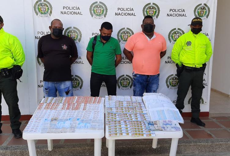Capturados por chance ilegal