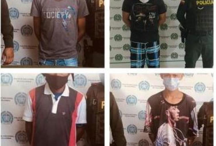 Por fuga de presos policía captura a cuatro personas en Sucre