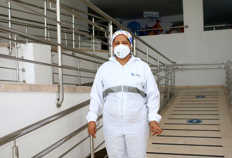 Primera persona que será vacunada en Barranquilla