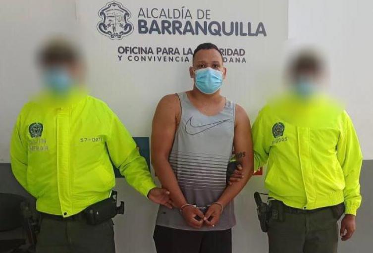 Captura de presunto asesino de docente en Barranquilla