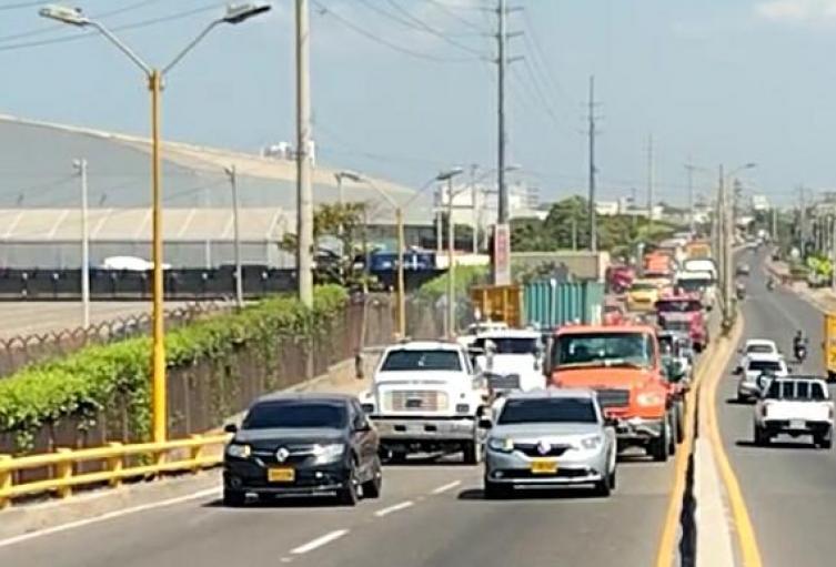 Protesta camioneros