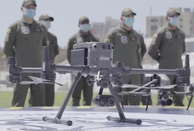 10 drones serán utilizados para combatir delincuencia.
