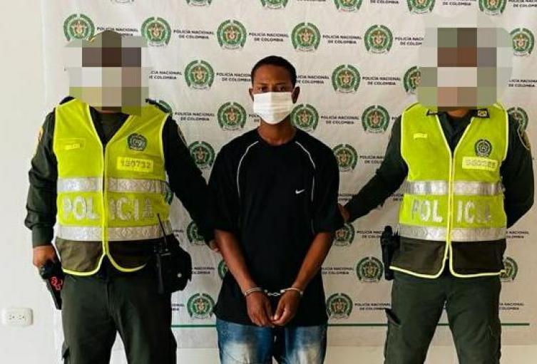 En Coveñas (Sucre) cayó ´El Negro´ , 'Cristian' o 'Daniel' presunto sicario del Clan del Golfo con injerencia delictiva en Caucasia ,Antioquia