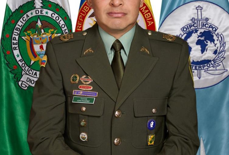 En sucre asume como nuevo comandante de Policía el coronel Juan Carlos Ramírez Chávez
