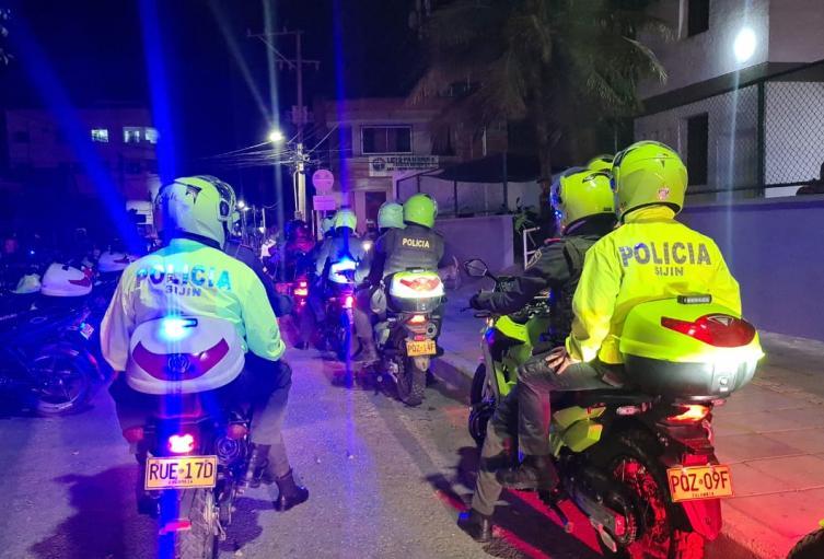 La Policía los busca por todos los rincones