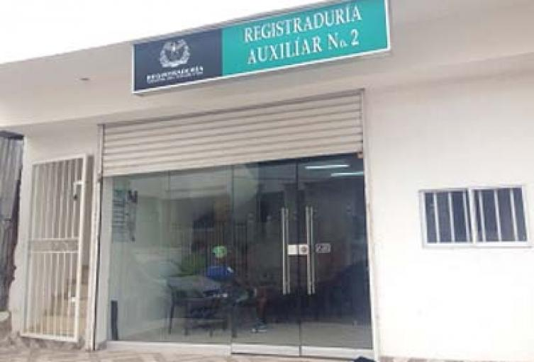 Registraduría Auxiliar en Cartagena
