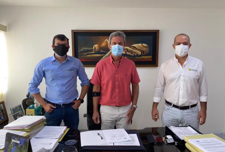 Firma de agenda ambiental