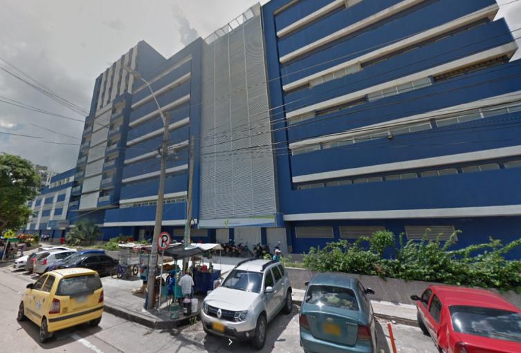 Hospital Metropolitano de Barranquilla, al cual llega Alberto Acosta como gerente.