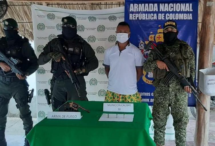 """Alias """"El ñato"""" presunto integrante del Clan del Golfo"""
