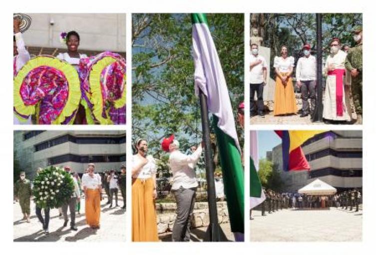 El Departamento de Sucre conmemoró su aniversario número 54