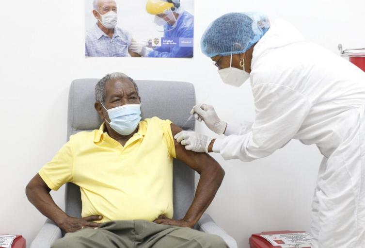 Vacunación en Cartagena
