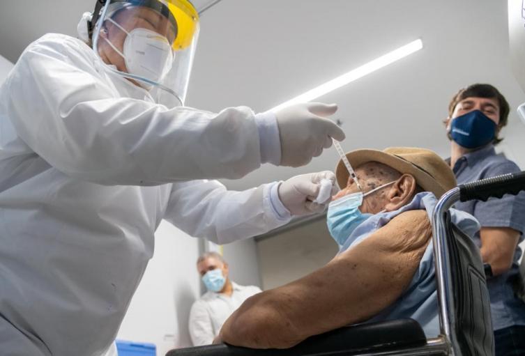 Vacunado un millón contra el Covid-19