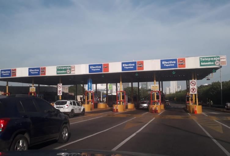 Peajes internos en Cartagena