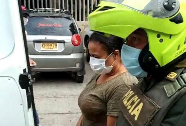 La mujer fue enviada a la cárcel el Buen Pastor.