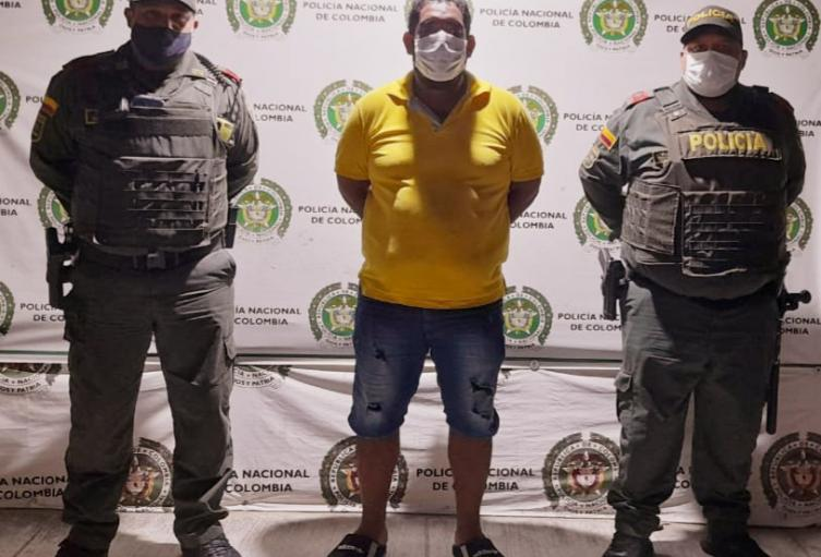 Fue capturado por violación a medidas sanitarias