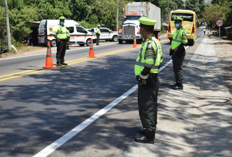 1.300 policía custodiarán el departamento