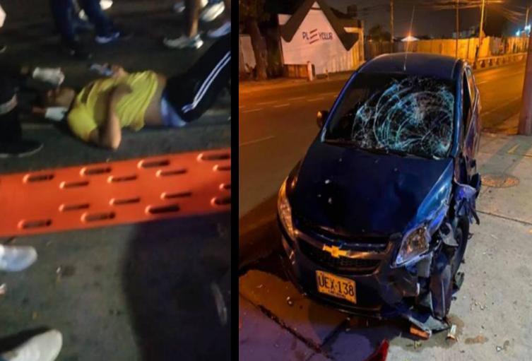 Agentes del DATT atendieron el accidente