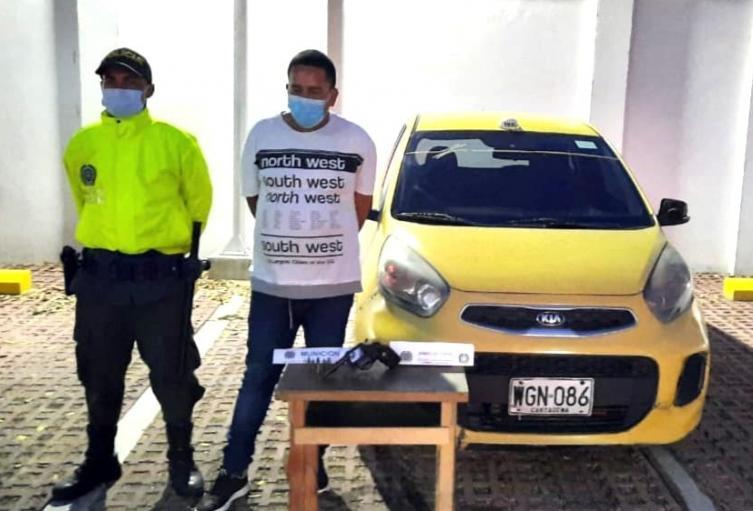 Presunto falso taxista