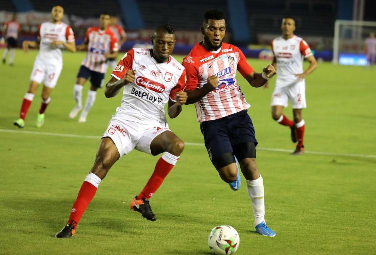 Junior vs Santa Fe 2021; Liga Betplay