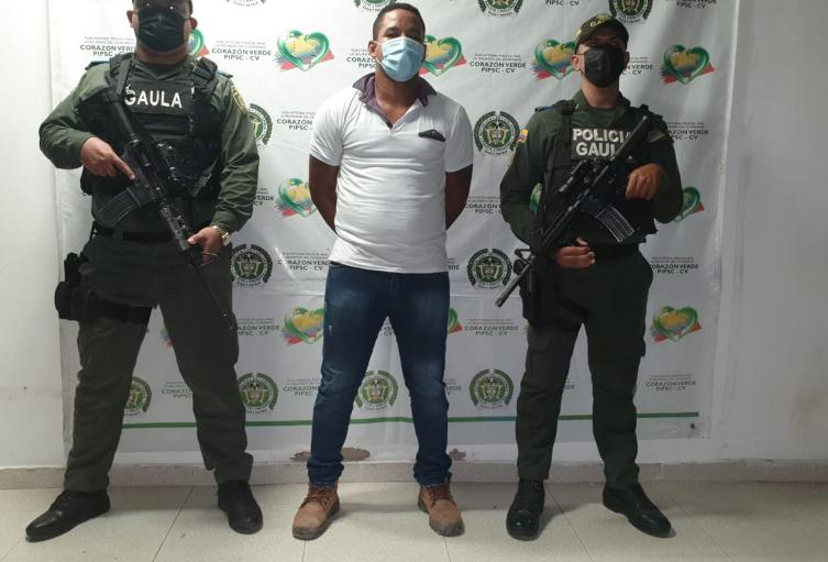 Presunto jefe de Zona comisión frente Luis José Solano Sepúlveda GAO-ELN