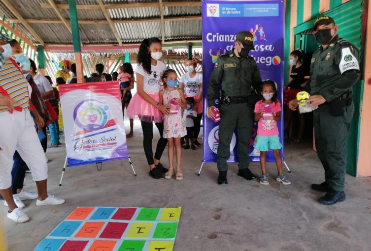 Celebración Dia del Niño en Río Viejo