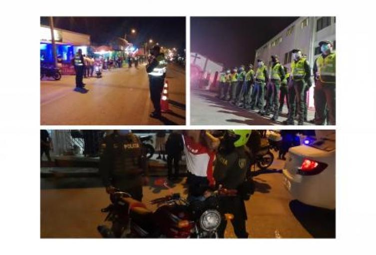Policía en Sucre presenta balance operacional