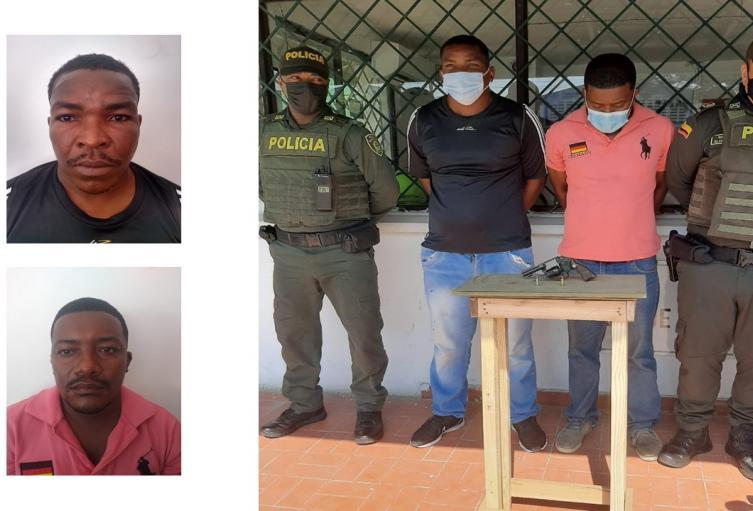 Mediante persecución fueron capturados en la avenida Crisanto Luque