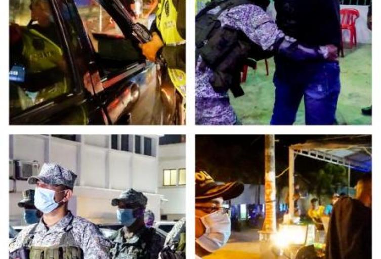 Caravana de seguridad y autocuidado se toma barrios de Sincelejo