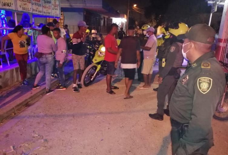 Fiestas clandestinas en Cartagena